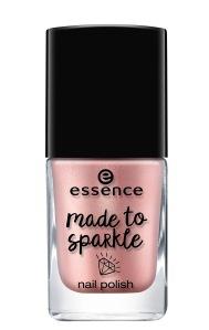 essence nail polish made to sparkle