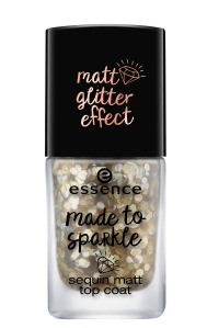 essence made to sparkle sequin matt top coat 01